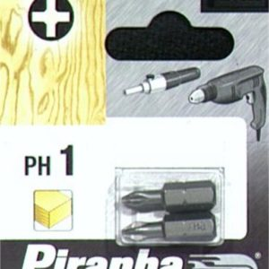 BITS PH1 2STK X61020      PIRANHA